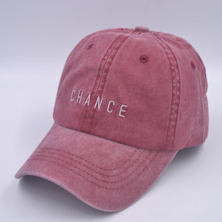 carta Z1ZSj OPORTUNIDAD lava bordado pareja de estudiantes sombra gorra de béisbol del casquillo del sombrero del sol del sombrero del sol de edad de los hombres y mujeres de béisbol