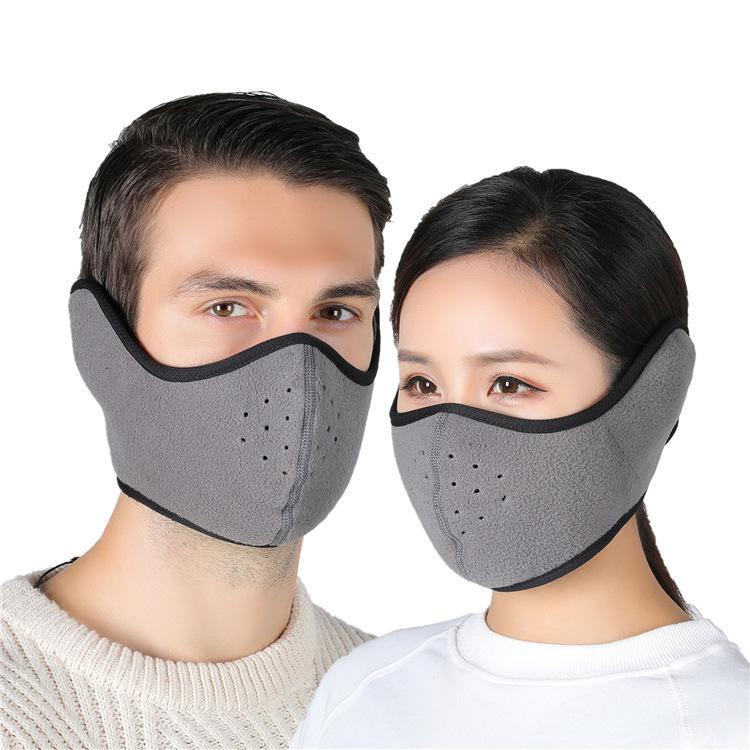 Polar Stock лыжи флисовые маски против холодной для мужчин Женщины велосипедного мотокросса партии Keep Warm Mask Скейтборд Сноуборд Face