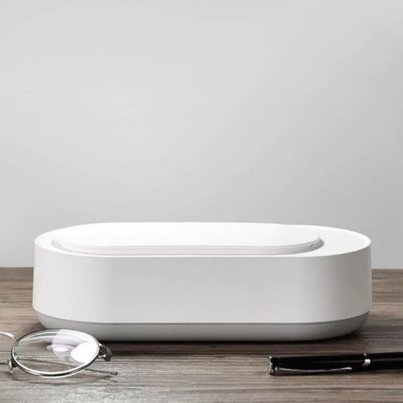 EraClean بالموجات فوق الصوتية آلة تنظيف 45000Hz عالية التردد الاهتزاز غسل منظف الغسيل مجوهرات نظارات ووتش