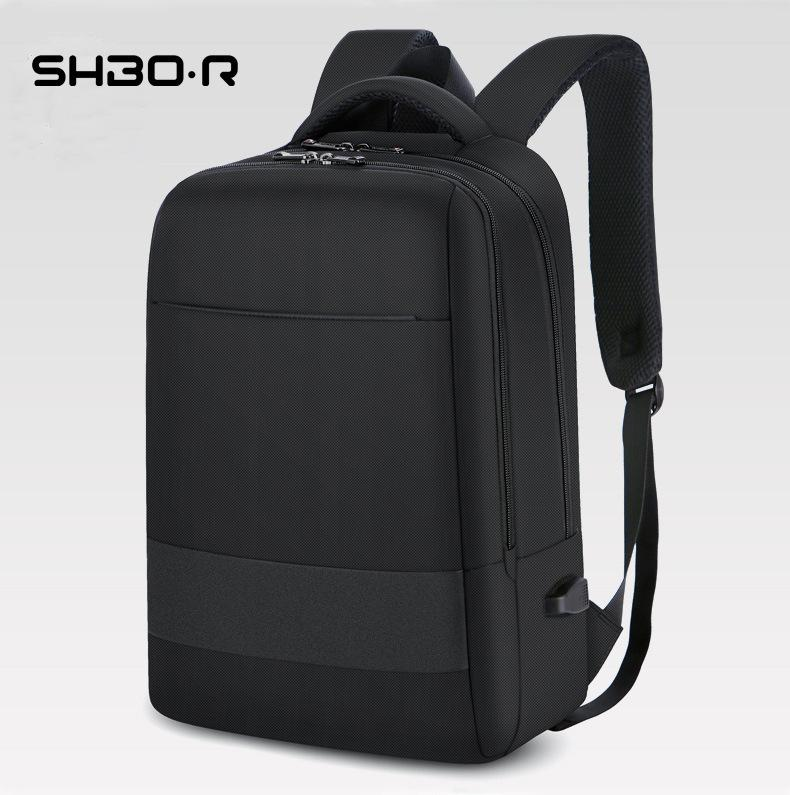 Mens Designer Bags wear-resistant waterproof USB charger backpack Travel Leisure Oxford cloth computer bagKV1D