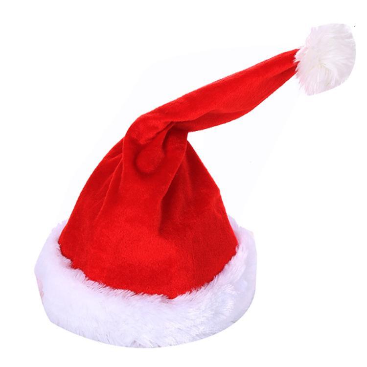 Vendita canto calda Spostamento di Santa peluche divertente Danza del cappello di Natale
