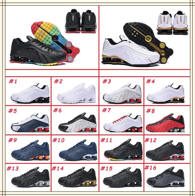 Cojín NZ R4 301 para hombre zapatos de baloncesto blanca cometa Rojo-Negro-plata metálico multicolor Avenue Deli NakeskinJordánTamaño Retros
