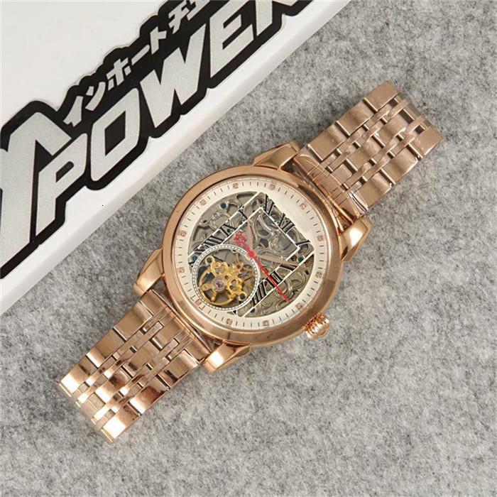 2020 automatische Skeleton Uhr-Mann-Luxus-Designer-Herren-Uhren, Gold, Silber mechanische Bewegung Armbanduhr Orologio Di Lusso