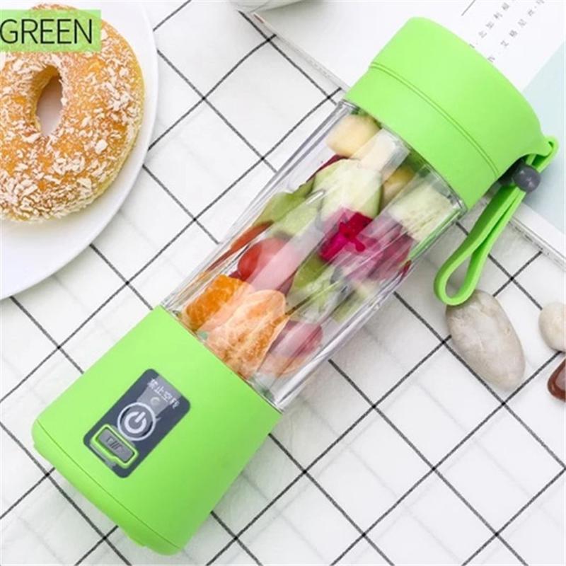 محمول الفاكهة الكهربائية كأس عصارة 380 ML البسيطة USB قابلة للشحن عصير عصير صانع الخلاطات آلة الفاكهة خلاط عصر العصير كأس VT1580