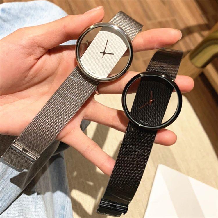 Hot venda de Luxo Mulheres relógios Rosa de Ouro Rhombus Dial pulseira de aço Cadeia Traje relógio de senhora Relógios de pulso Nobel Feminino Quartz preço de atacado