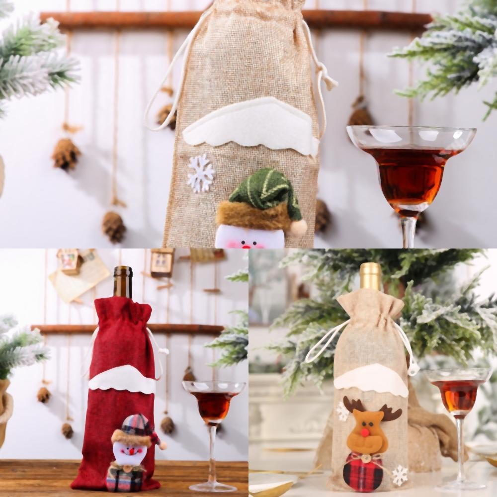 8G3M2 Décorations de Noël Hôtel Box Tumbler Tin Can Set à vin Decorationsdy Can Christmas Cookie New Creative enfants Gift Box T