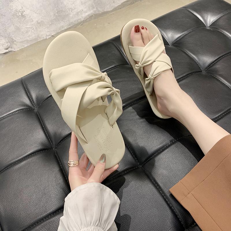 2020 Yeni Yaz Ayakkabı Kadın Düz Sandalet Kadınlar Kapalı Ev Terlik Ayaklı Katı Banyo Terlik Kadın Plaj Shoes TX167 Floplar