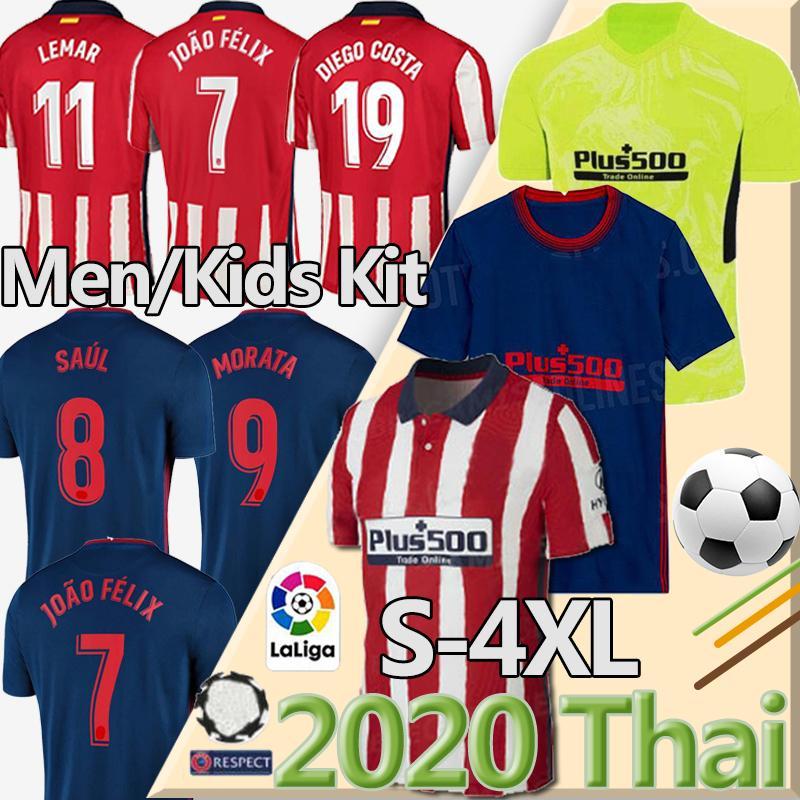 الفانيلة كرة القدم التايلاندية 20 21 جواو فيليكس أتلتيكو مدريد لكرة القدم الفانيلة 2019 2020 KOKE DIEGO COSTA GRIEZMANN camiseta دي فوتبول لورينتي