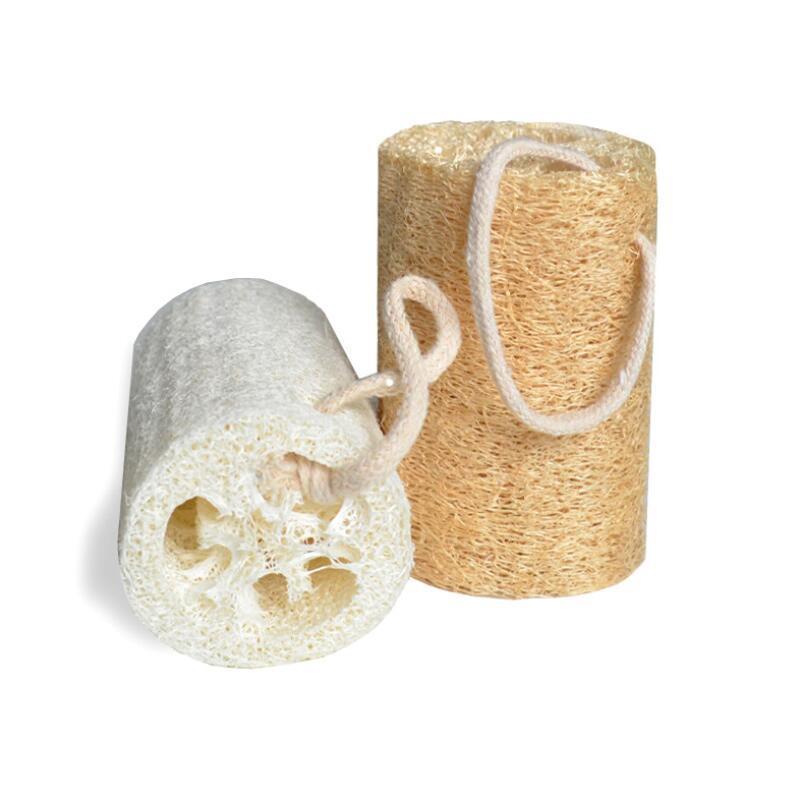 Loofah natural Luffa Esponja con loofah para el cuerpo Quite la herramienta de piel muerta y la cocina HHD1117