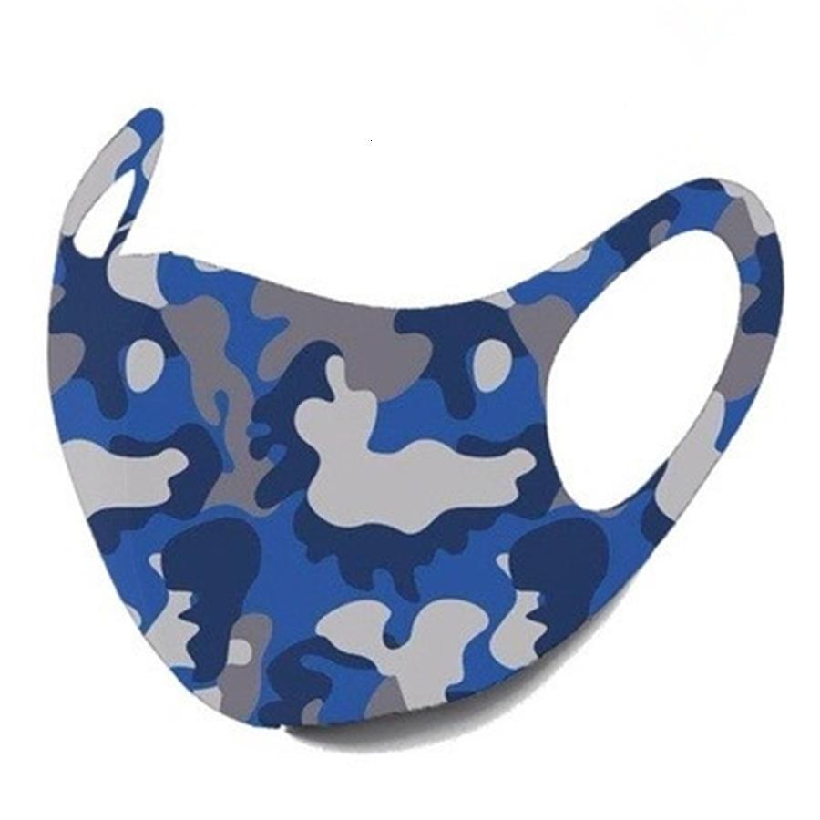Maske gedruckt Unisex Gesicht Mund Designer PM2.5 Staubdichtes Anti-l Waschbar Wiederverwendbare Ice Silk Cotton Masken # 150 # 430