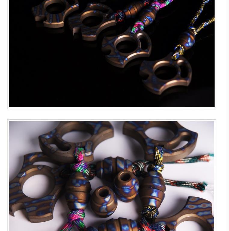 Nuovo Limite INTI lega di titanio Tiger Finger chiusura pendente Difesa corpo Accessori boxe strumento di autodifesa Bottle Opener