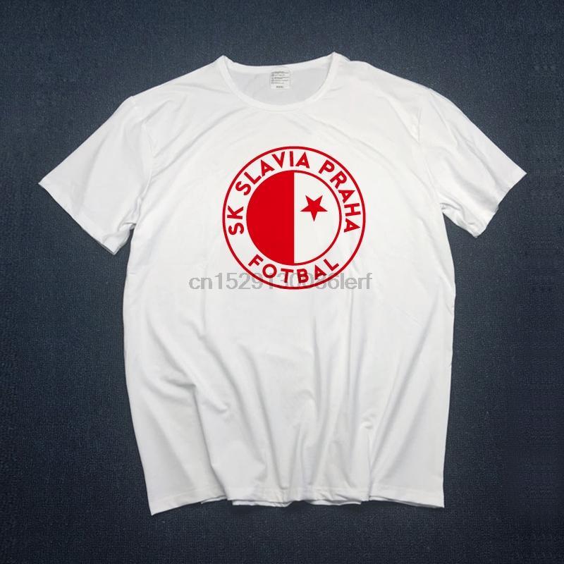Männer Slavia Praha T Shirts Milan Skoda Muris Mesanovic Printing Short Sleeve Anciana Fans Club-T-Shirt Stück-S Xxxl