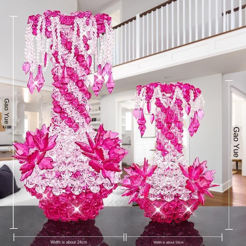 acessórios fIt8J Super Amor acessór Pingente criativas Acrílico acessórios pingente de vaso solta pérolas enfeites criativos frisado artesanal DIY