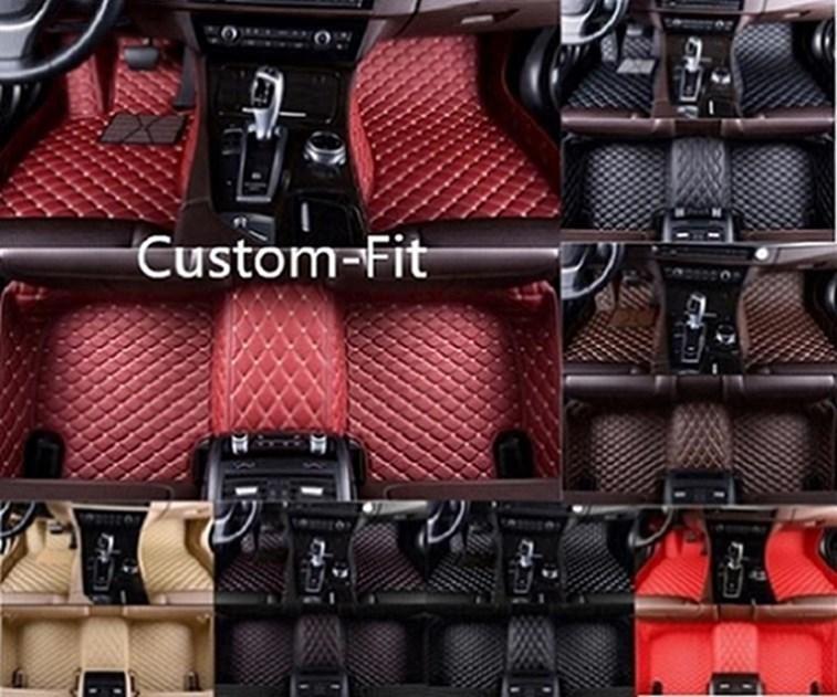 Fit Pour Hyundai Kona 2018-2019 luxe sur mesure imperméable antidérapante Tapis d'auto non toxiques et inodores