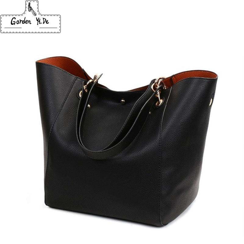 Натуральная кожа женщин сумки 2019 Новый дизайн Женщины Ковш Сумки Vintage Большие Женщины сумки на ремне болса feminina Tote 12 Цвет