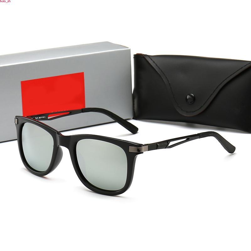 RayBan RB4235 Top Quality 2020 New Luxury uomini del progettista di modo delle signore occhiali da sole popolari rettangolare Occhiali da sole protezione UV con la struttura