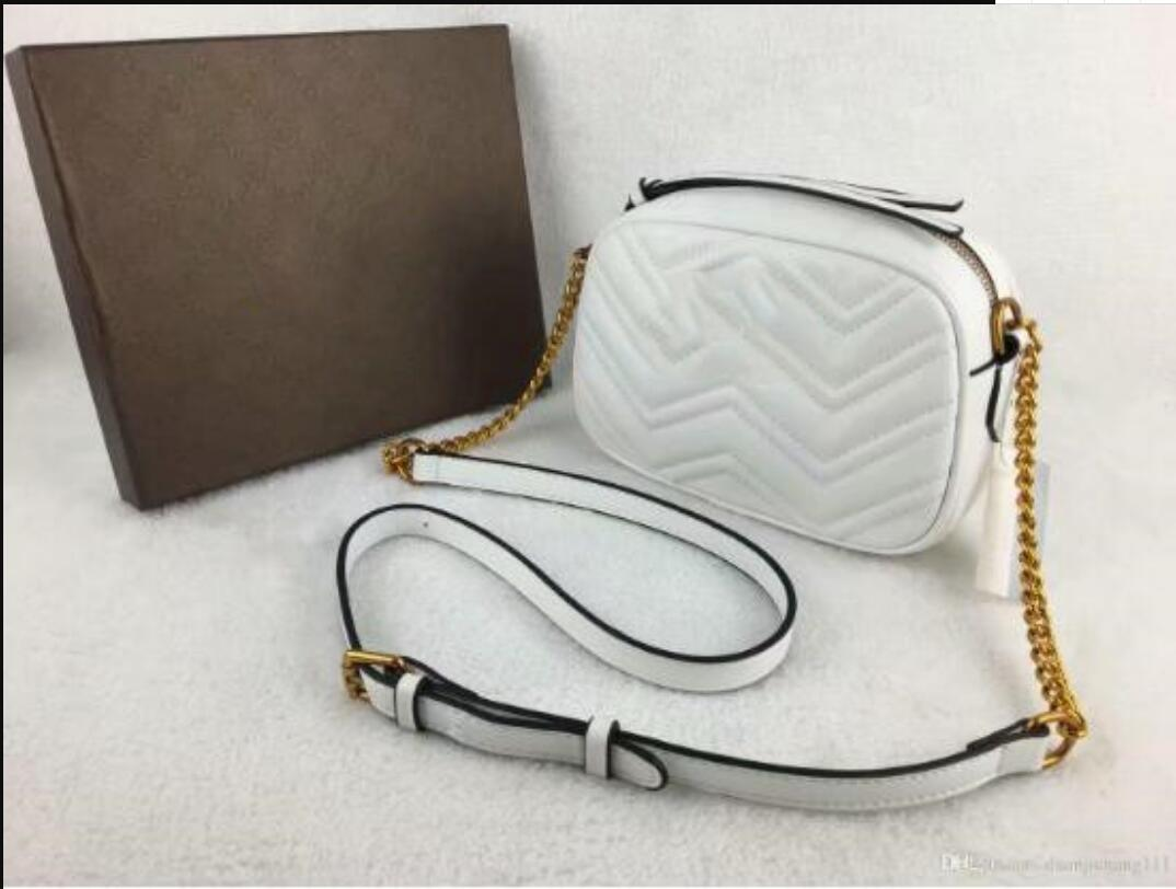 Ancient Marmont Chain Sale Hot Designers Bag Long 2021 PU Messenger Totes Shoulder Bags Women Gold Chain Waist Handbags Leather Hobos Jotej