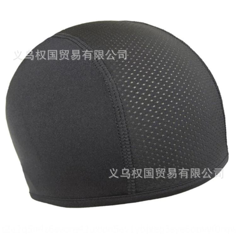 berretto di stoffa 1Gkqc Equitazione testa fodera in piccola moto bicicletta rivestimento interno casco del motociclo Piccolo cappello di panno di raffreddamento Cap