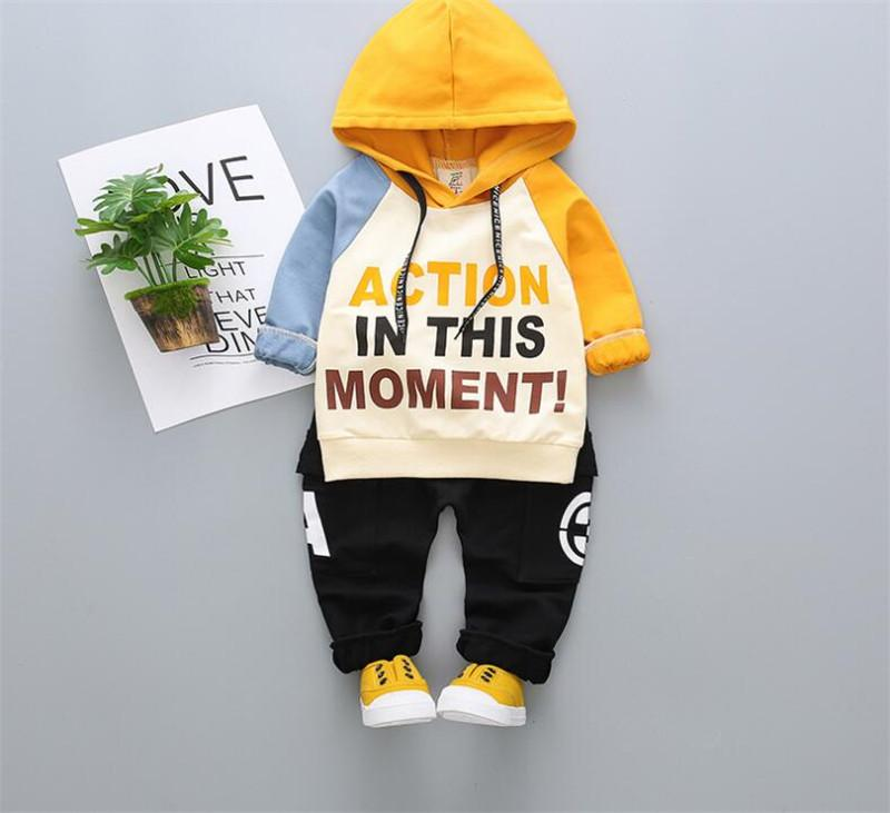 VANSlogo Luxury Designer Little Dog Children Tracksuit Boy Hoodies Baby Sweater Shirt pants 2pcs Suit Kids Boys and Girls Outfits