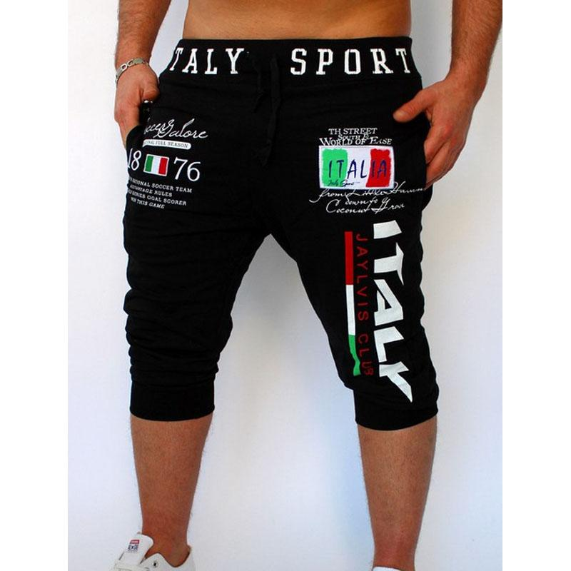 Quick Sell Through The Explosion of Trousers Italian Digital Printing Design Male Summer Fashion Shorts Pants for Men's Clothing