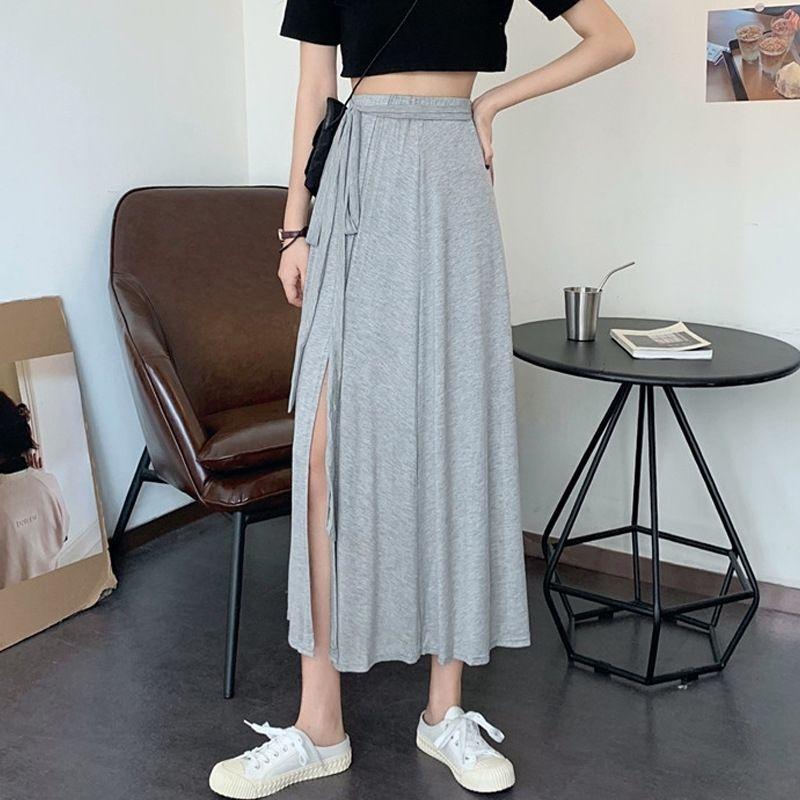 gHE2C EdB6V gonna gonna abito stile divisa nuova estate di stile Hong Kong bm lunghezza media vestito sottile linea A- alta della vita delle donne