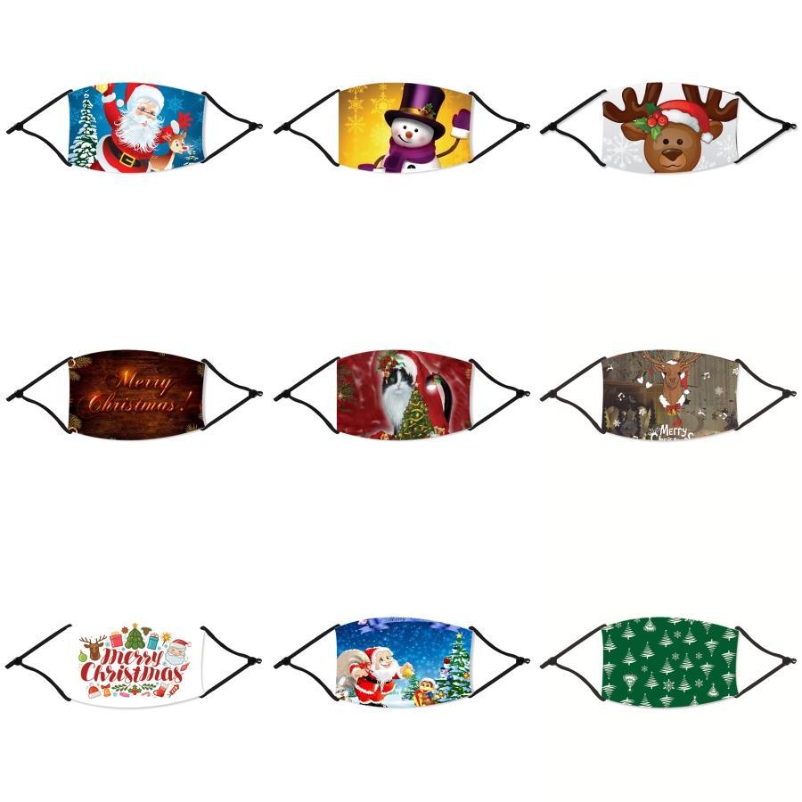 3D Защита глаз Дизайн Рождество Маска дышащего Ice Шелкового Цвет Ladies Половина лицо Рождество маски ветрозащитной езда Лето Thin Рождества # 180