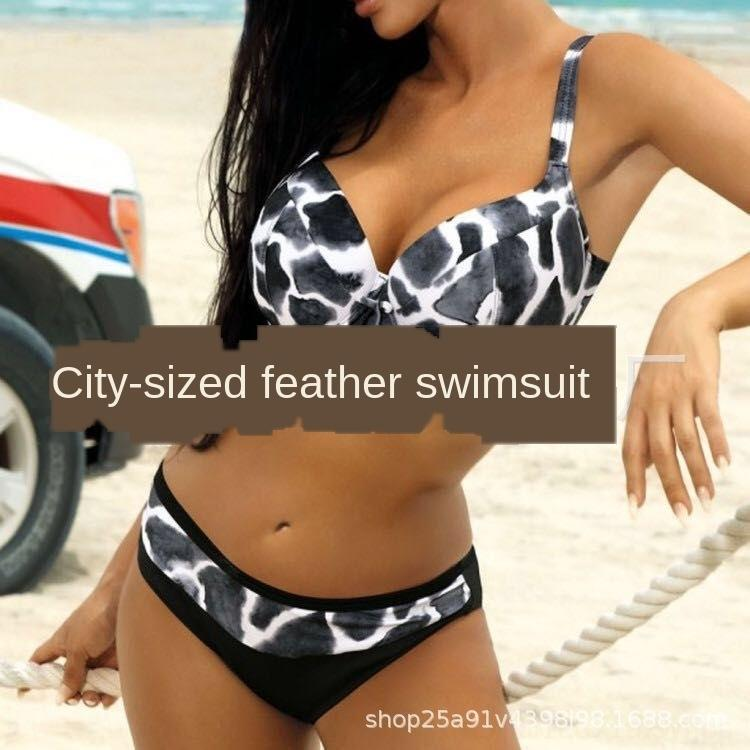 WhLGY 2020 yeni büyük seksi bikini sert torba bikini mayo boyutu Pqi9e kadın mayo