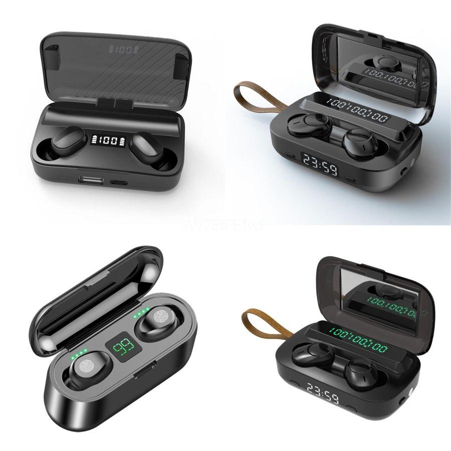 Y30 TWS Bluetooth 5.0 наушники Беспроводные гарнитуры водонепроницаемый наушники Мини-вкладыши HIFI гарнитура Cradle Design # 132