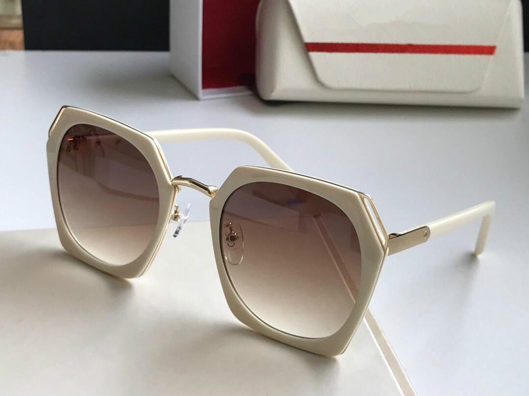 Nuovo 2282 occhiali da sole donne stilista cornice quadrata Estate Stile misto Colore della struttura popolare lente superiore UV Protection prossimo con il caso