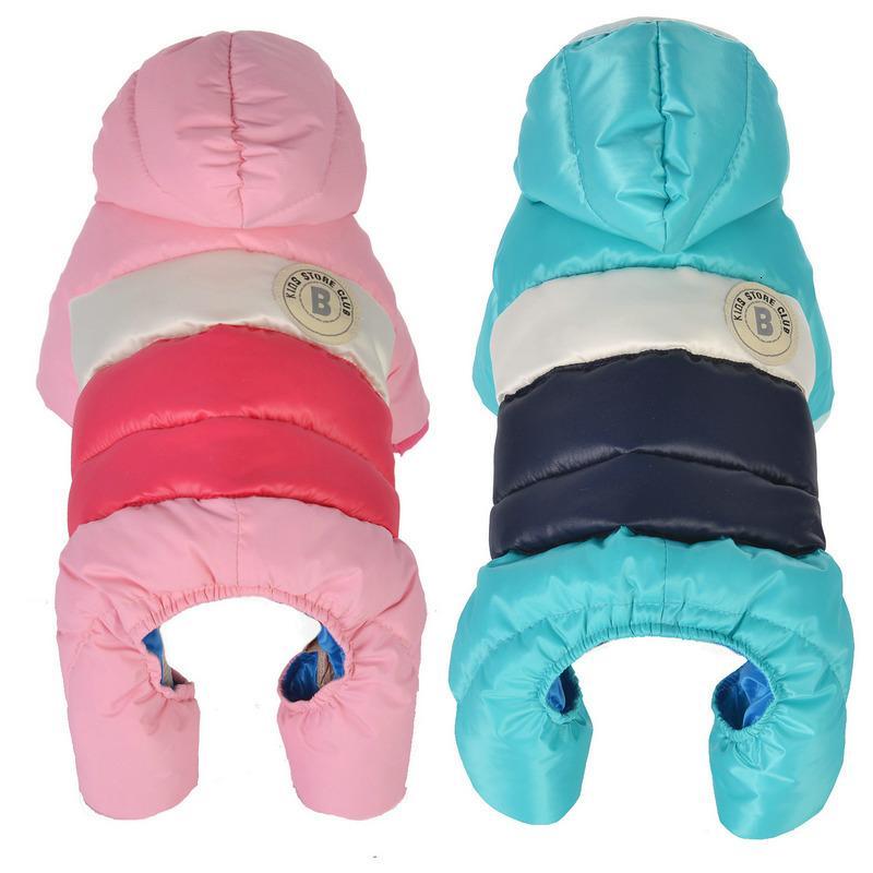 Automne Hiver Pet vêtements pour chiens pour petits chiens Épaissir chaud chiot Manteau pour chien Veste imperméable Chihuahua Yorkshire Jumpsuit Vêtements