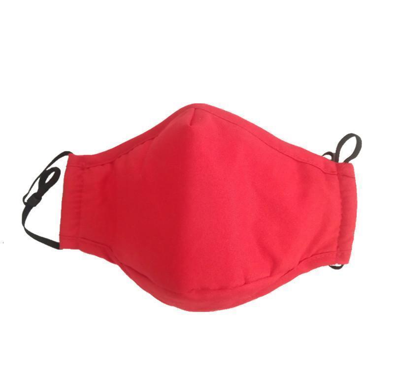 Katman Toz geçirmez Katı Anti-sis Yüz Pamuk Kumaş Binme PM2.5 Kapak 3 Yeniden kullanılabilir Renk Yıkanabilir Bwkf Gewse Maske