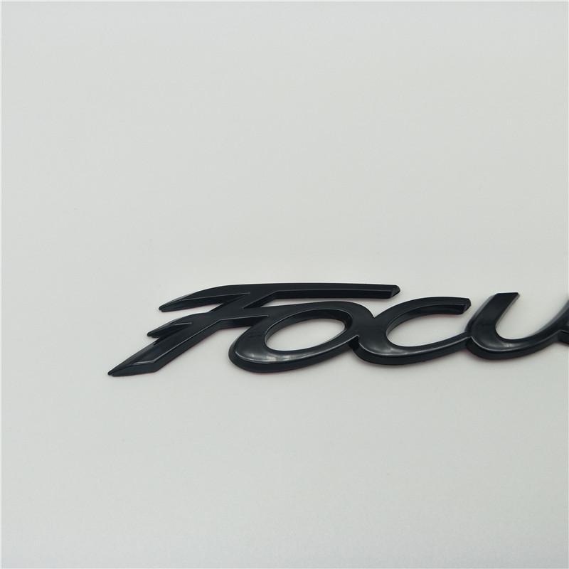 새로운 포드 포커스 MK2 MK3 MK4 후면 트렁크 뒷문 엠블럼 배지 스크립트 로고