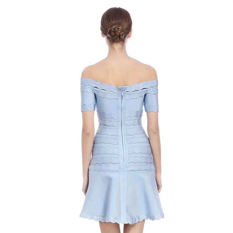 Zwei-Farben-eleganter A- Linie Kleid Horizontal Ansatz-Verband-Abend-Kleid Süße Geburtstags-Party Schlank Abnehmen Kleid