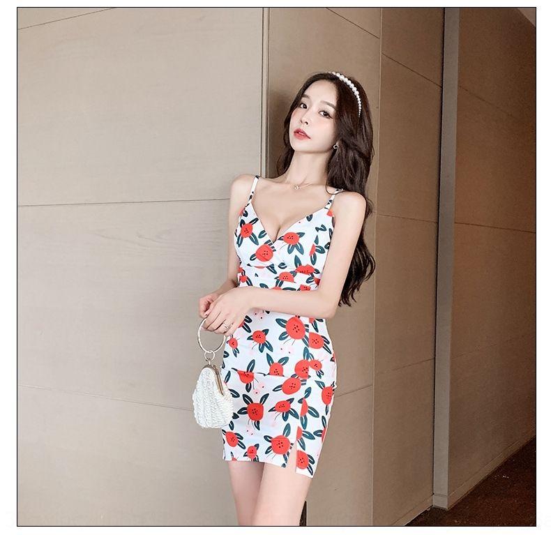 xO4iA 2020 Verão Suspender saia novo estilo gentil deusa Platycodon Xian suspender vestido de cintura romântico fã grandiflorum vestido elegante 478