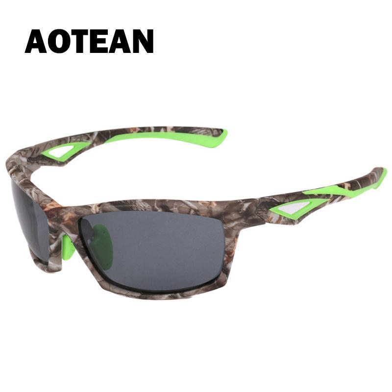 Männer Camo polarisierte Sonnenbrille Art und Weise neu reduzieren Glare Sonnenbrillen Fashion Driving Angeln Jagd Brille Tarnung Brillen