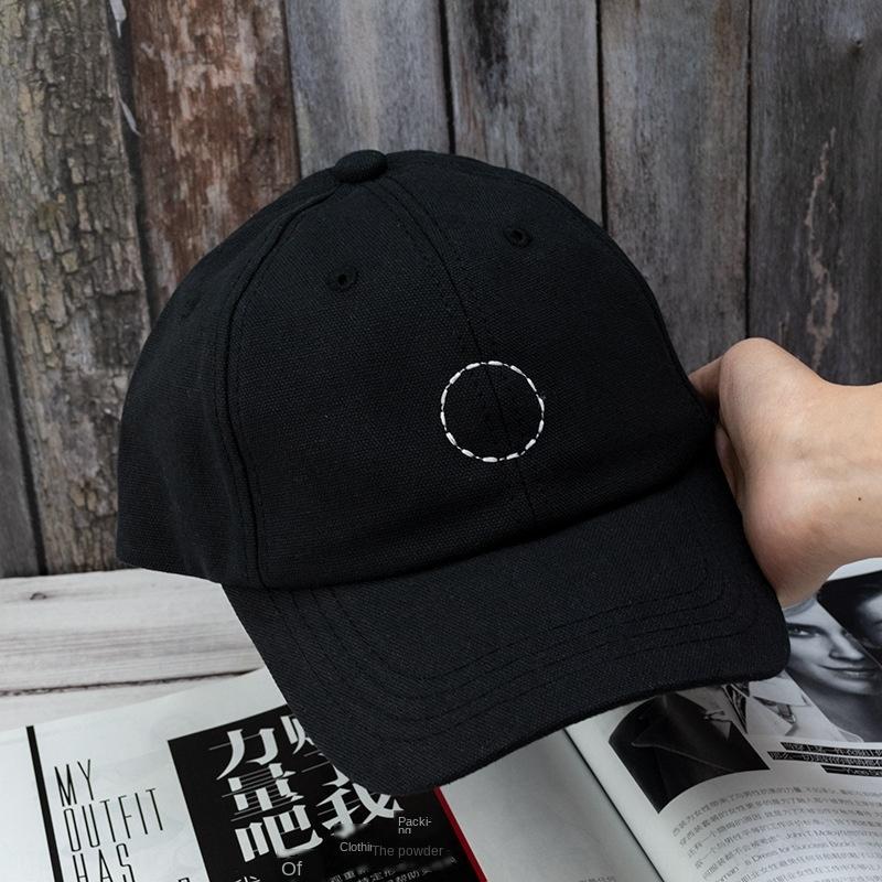 dGMfI Ins шапка женской мода все соответствует простой кругу вышитых бейсбол Вышитой бейсболка интернет знаменитость же стиль мягкого верх гр