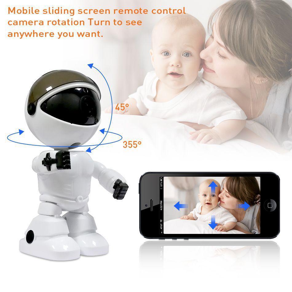 1080P red inalámbrica cámara de vigilancia Hogar Multi-función de cámara de visión nocturna todo-en-uno de la máquina de teléfono móvil Wifi Monitor-remoto