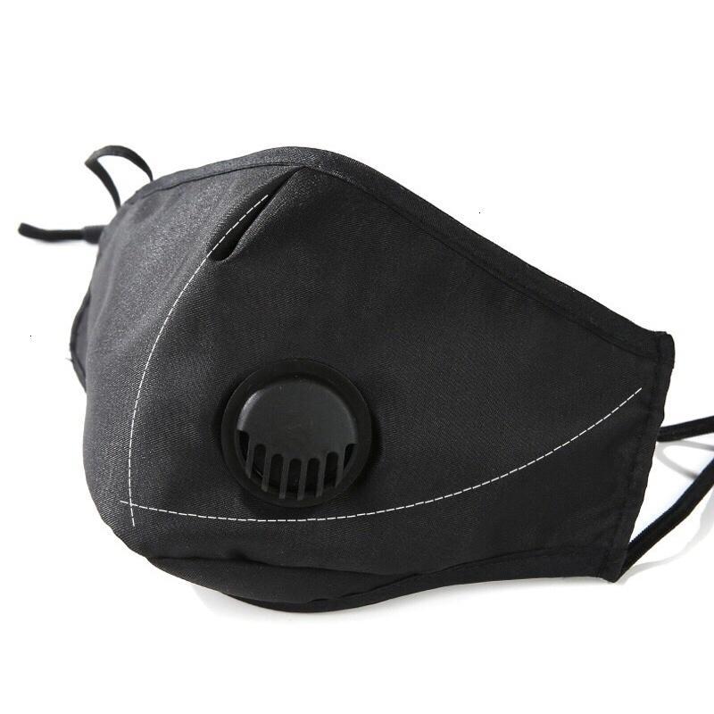 Carbon filtro in cotone Viso attivato polvere anti traspirante della mascherina mascherine Valvole con valvola di respirazione