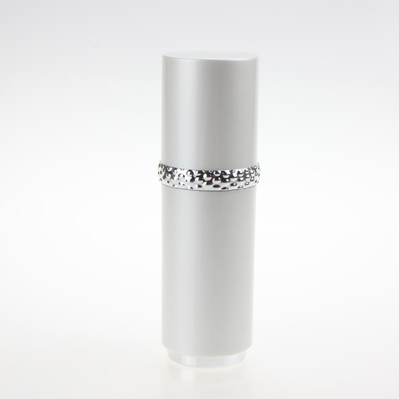 100pcs / lot 1 oz de plástico envase cosmético, 30ml Botella Blanca bomba de la loción