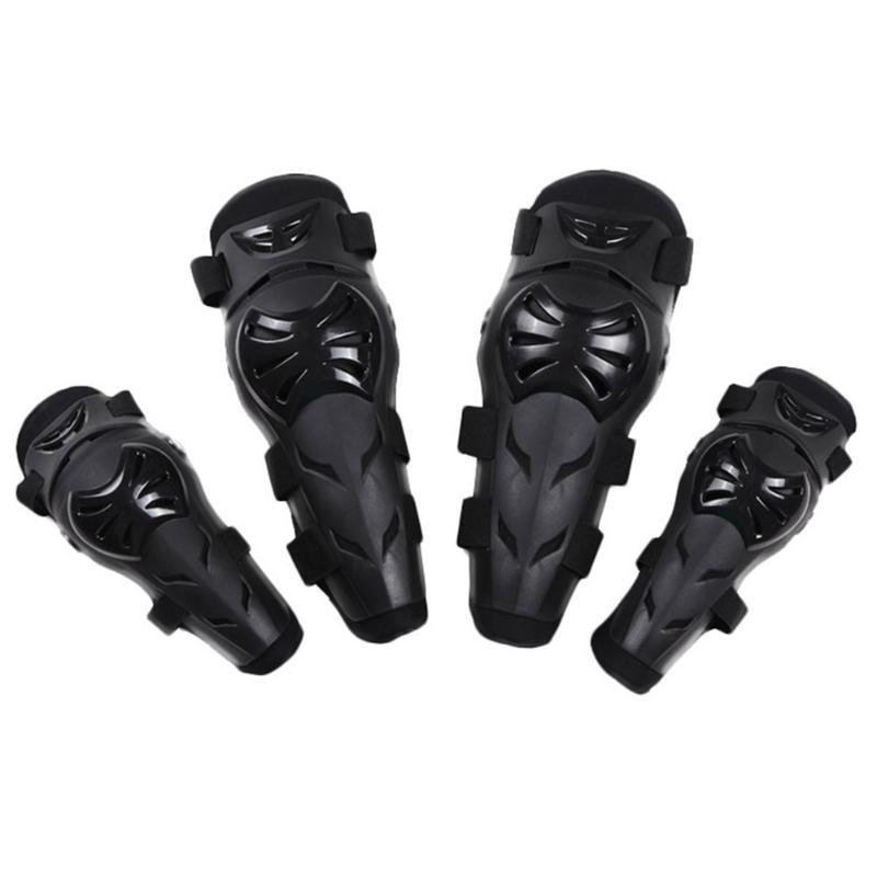 Motocross Ciclismo Skating joelho cotovelo Pads Set Esporte equipamento de protecção para Adultos Patella Protetores Esportes Kneepads segurança
