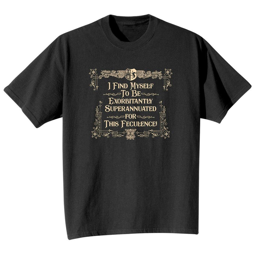 Lo que en la Tierra unisex Soy demasiado viejo para esta mierda grandilocuentes camiseta Top - Regalo de cumpleaños Negro Camiseta