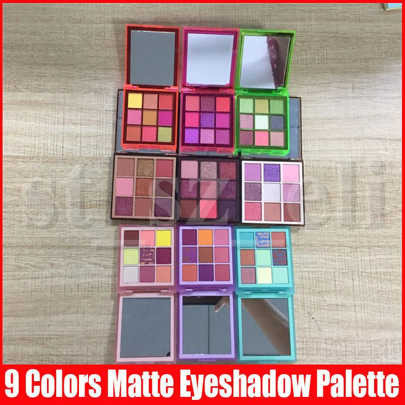 Beauty shimmer Eyeshadow Makeup 9 Colors matte nude Eye Shadow Pressed Palette Cosmetic 9 styles in stock