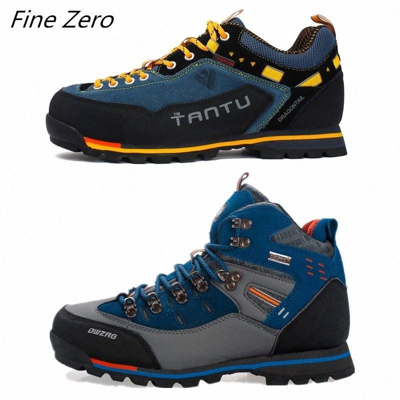Los nuevos hombres botas de goma masculina combate tobillo de los zapatos Seguridad en el Trabajo Tamaño 39 46 otoño invierno la nieve Botas zapatillas de deporte al aire libre de los hombres zapatillas de deporte Pcx3 #