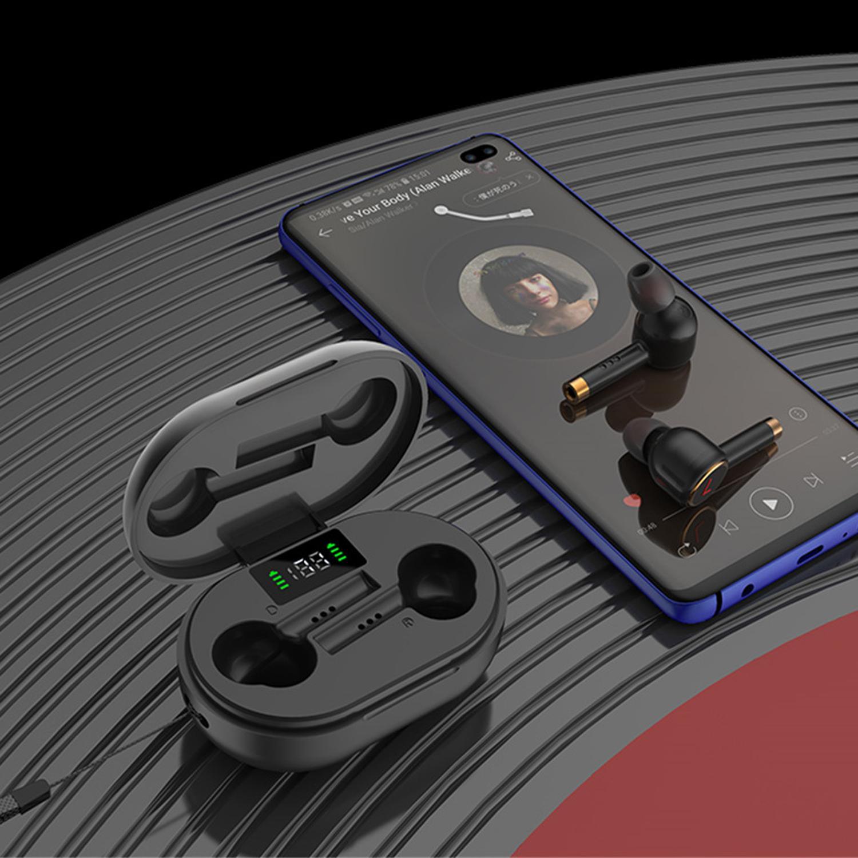Yeni Bluetooth Kulaklık L2Pro TWS Mikrofon Ile Kablosuz Kulaklıklar Spor Su Geçirmez Kulakiçi HIFI Stereo Gürültü Iptal Kulaklık