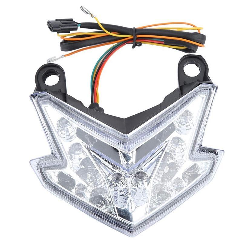 닌자 ZX6R을위한 새로운 통합 꼬리를 켜고 신호 LED 라이트 맞춤 / Z800 / Z125 프로