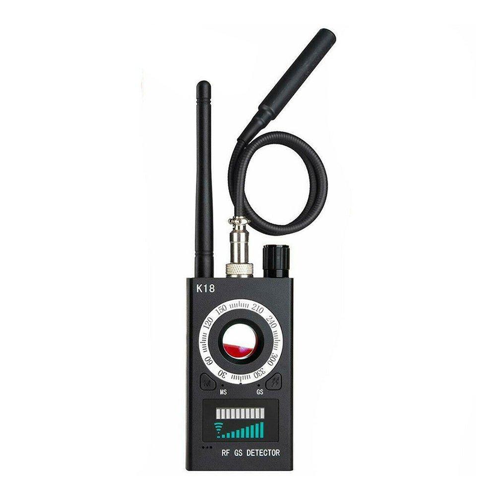 1MHZ-6.5 جيجا هرتز K18 كاشف كاشف متعدد الوظائف GSM الصوت علة مكتشف GPS إشارة عدسة RF Tracker اكتشاف المنتجات اللاسلكية