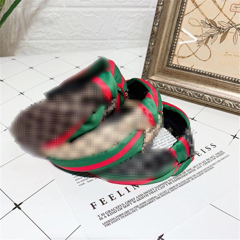 Luxus-Alphabet-Stirnband Letters Designer Stirnband Stoff Bogen-Stirnbänder Frauen-Marken-Sport-Haar-Band-Hairpin-Haar-Ring
