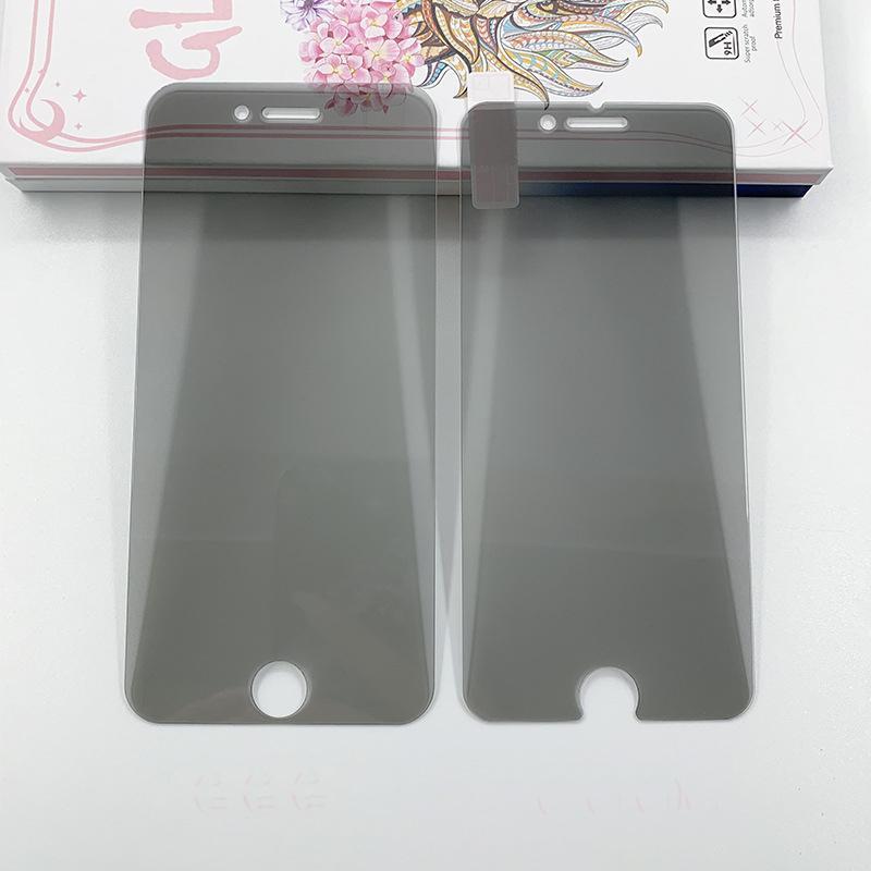Privacidade de vidro temperado para iPhone 11Pro max tela 9H Anti-Spy Protector Film tampa completa Compatível para Samsung J3 J5