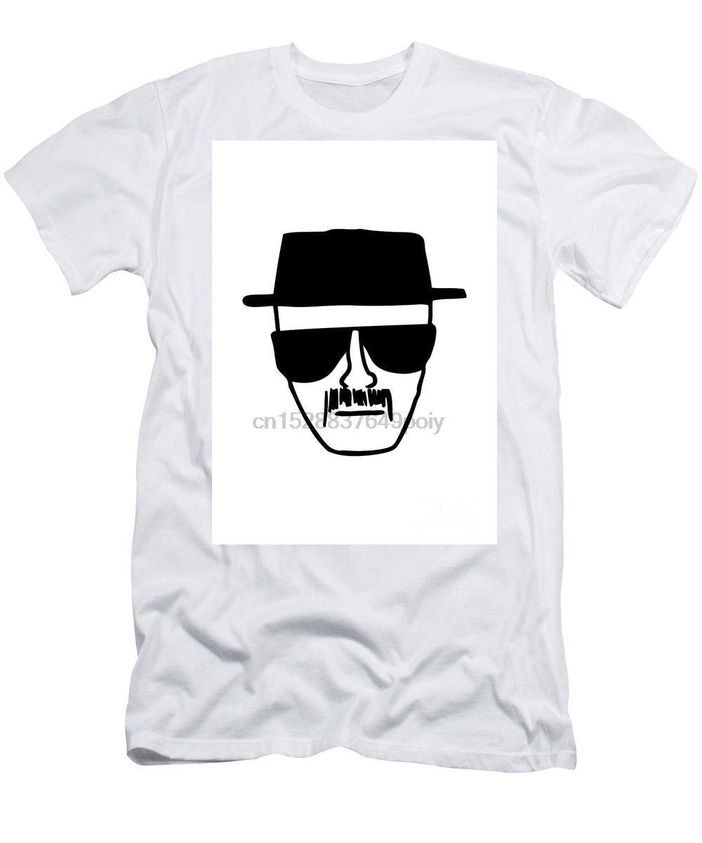 Heisenberg Harajuku Streetwear camisa para hombre Camiseta de los hombres