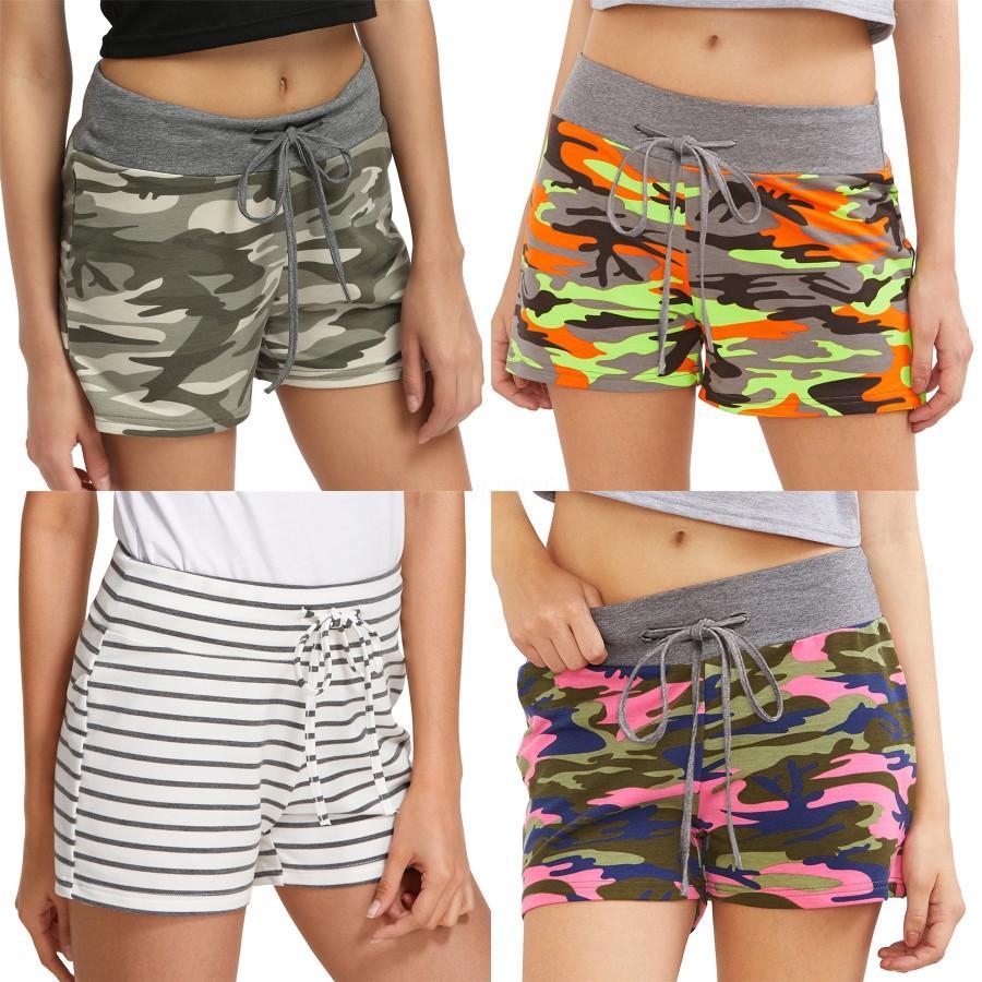 Color de los pantalones cortos para mujer botón del diseñador de la mosca pantalones cortos de cintura alta de la borla de los cortocircuitos Regular nuevo de las mujeres pura # 8961